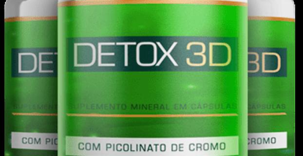 Detox 3D Bula? Funciona? [SAIBA DISSO ANTES DE COMPRAR]